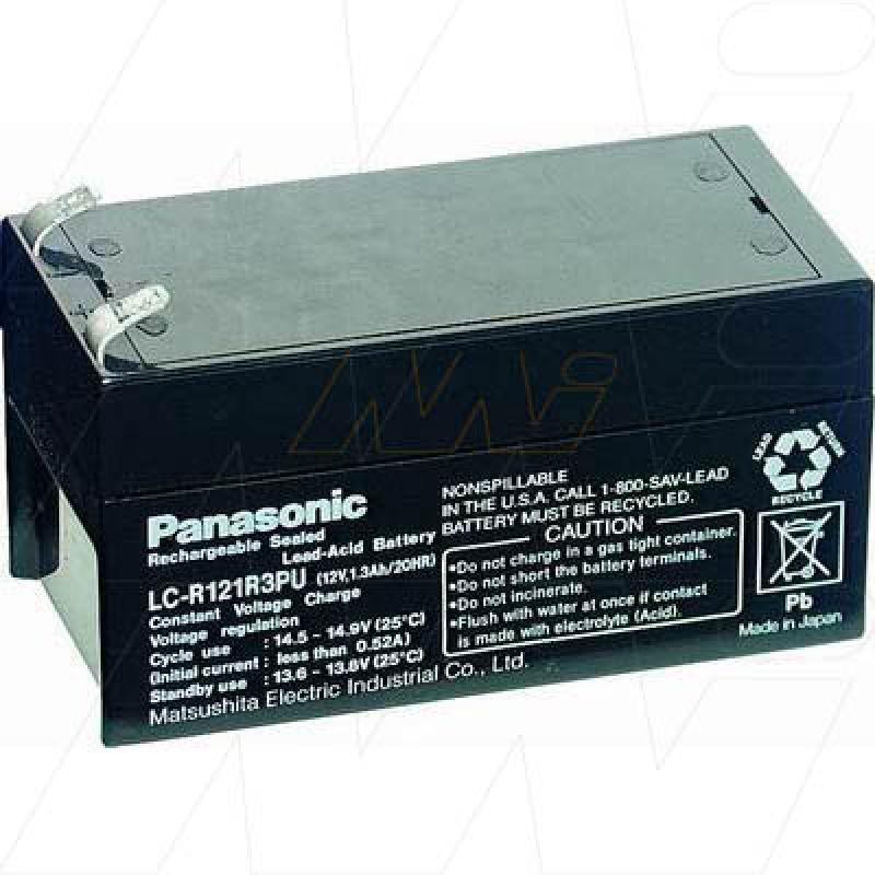 Panasonic LC-R121R3P - Sealed Lead Acid Battery