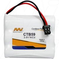 CTB59 - Cordless Phone Battery