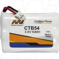 CTB54 - Cordless Phone Battery