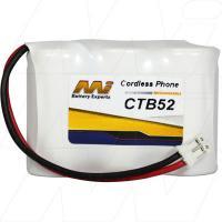 CTB52 - Cordless Phone Battery