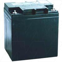 Panasonic LC-XC1228AP - 12V, 28Ah Sealed Lead Acid Battery, Cyclic Type