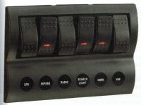 Narva 63193 - 6-Way LED Switch Panel with Fuse Protection