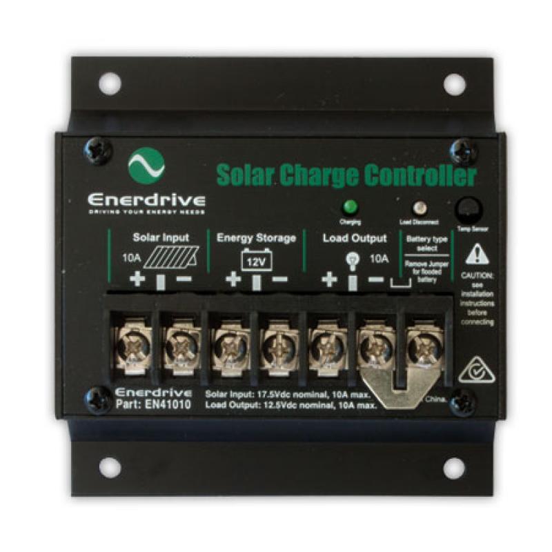 Enerdrive EN41010 - 10 Amp Solar Charge Controller