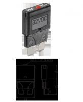 NARVA 55708 - 8A Standard Blade Fuse Circuit Breaker