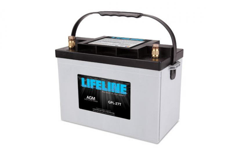 Lifeline GPL-27T - 12V, 100Ah high performance Deep Cycle Marine/RV AGM Battery