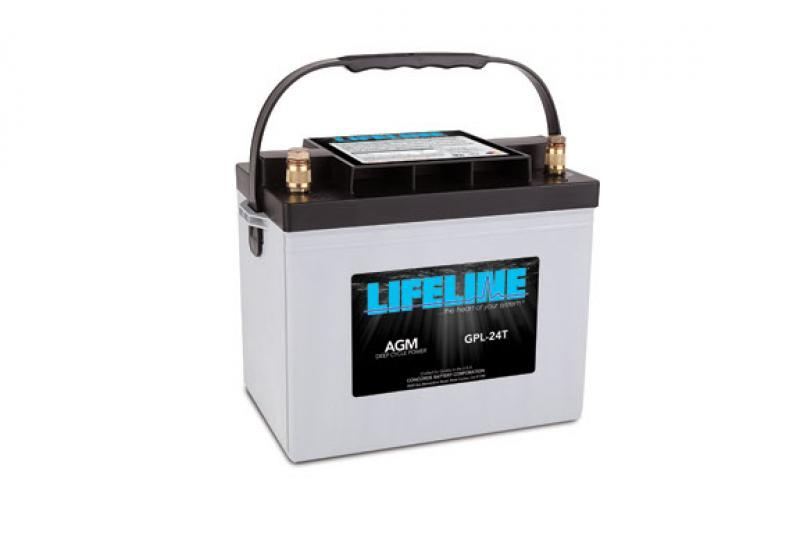 Lifeline GPL-24T - 12V, 80Ah Deep Cycle RV / Marine Battery