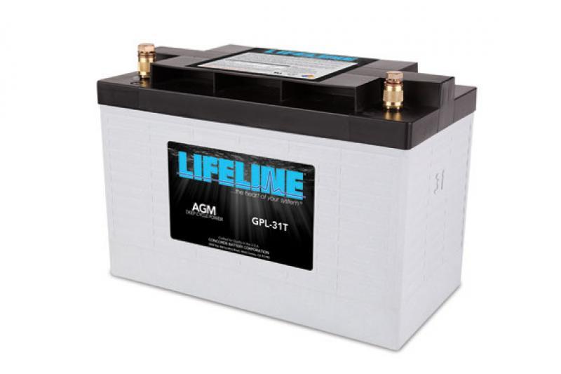 Lifeline GPL-31T - 12V, 105Ah high performance Deep Cycle Marine/RV AGM Battery
