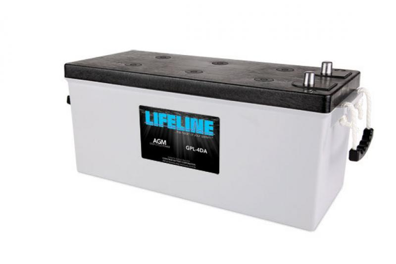Lifeline GPL-4DA - 12V, 210Ah Deep Cycle RV / Marine AGM Battery