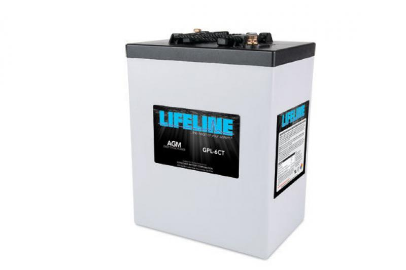 Lifeline GPL-6CT - 6V, 300Ah Deep Cycle RV / Marine AGM Battery