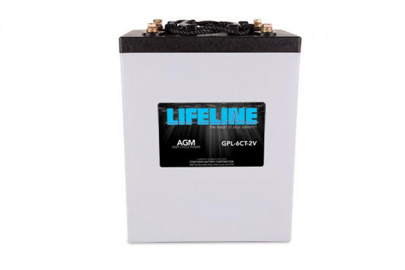 Lifeline GPL-6CT - 2V, 900Ah Deep Cycle RV / Marine AGM Battery