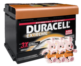 duracell car batteries
