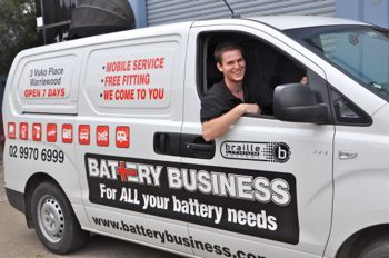 battery business, mobile car battery replacement