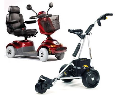 Mobility Scooter and Golf Cart Batteries