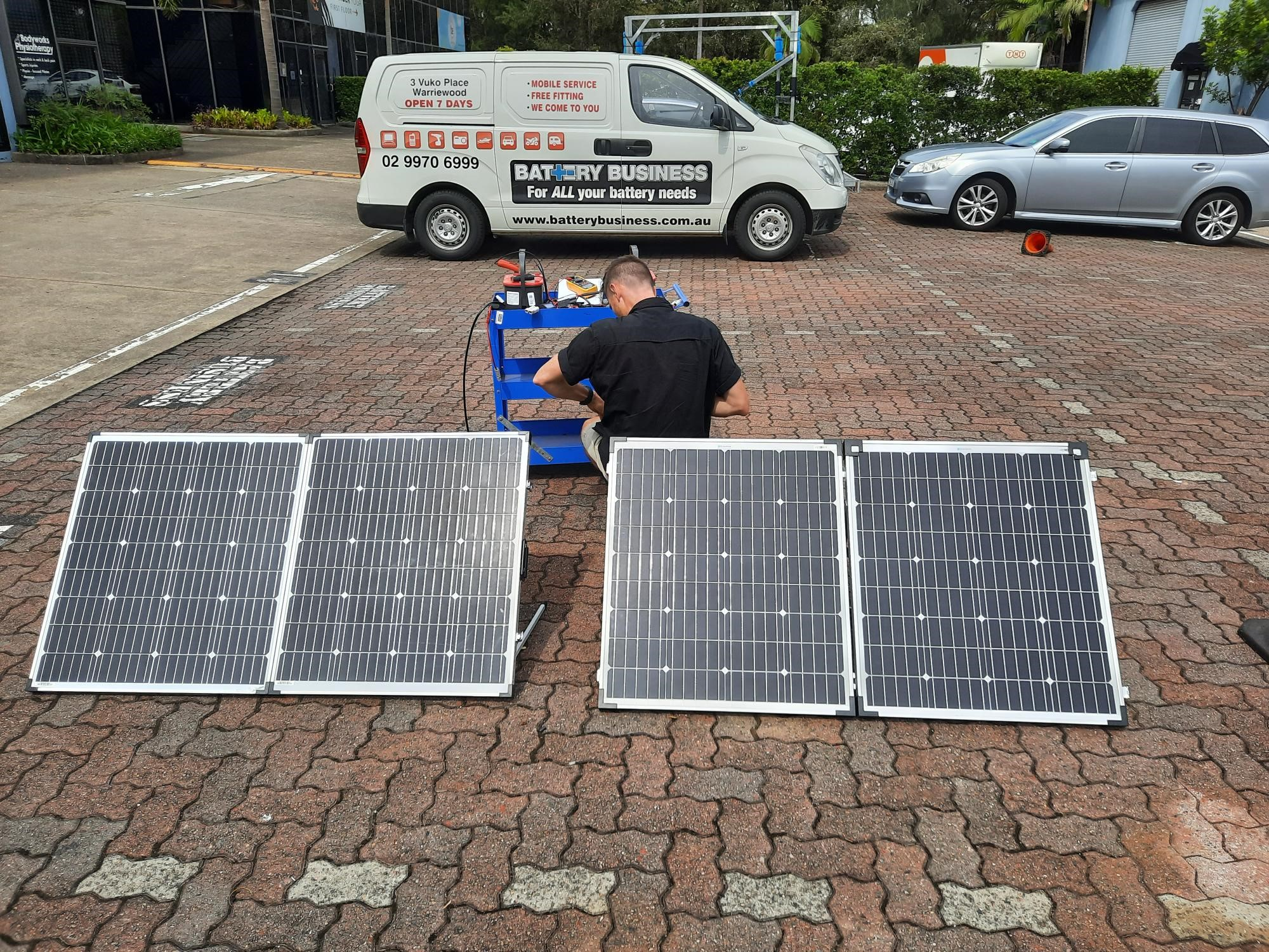 Solar panels for camping - squeezing out the most power